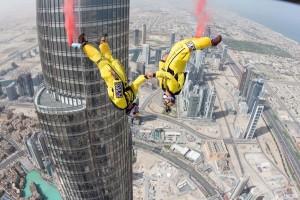 Полет от най-високата сграда в света: страх или забавление?