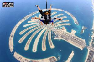 В търсене на щастието – скок с парашут в Дубай
